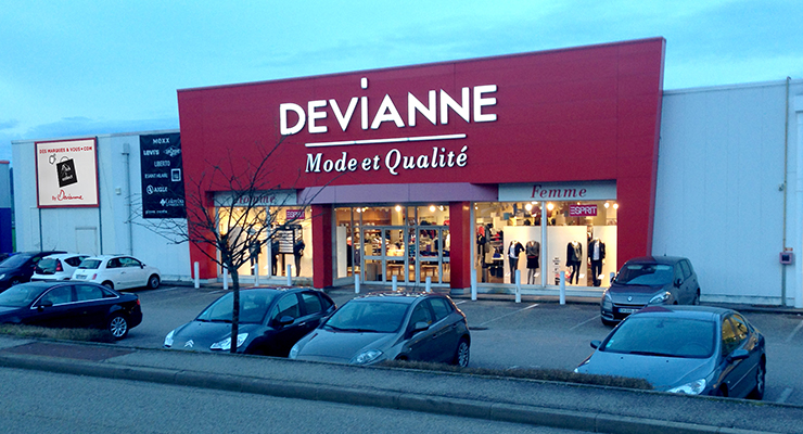 Nancy frouard devianne - Zone commerciale nancy ...